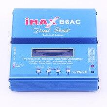 GTF IMAX B6AC RC Balance Battery Charger Nimh B6 AC 80W Nicd Lithium Battery Charger Balance Unloader + EU Digital LCD Disply
