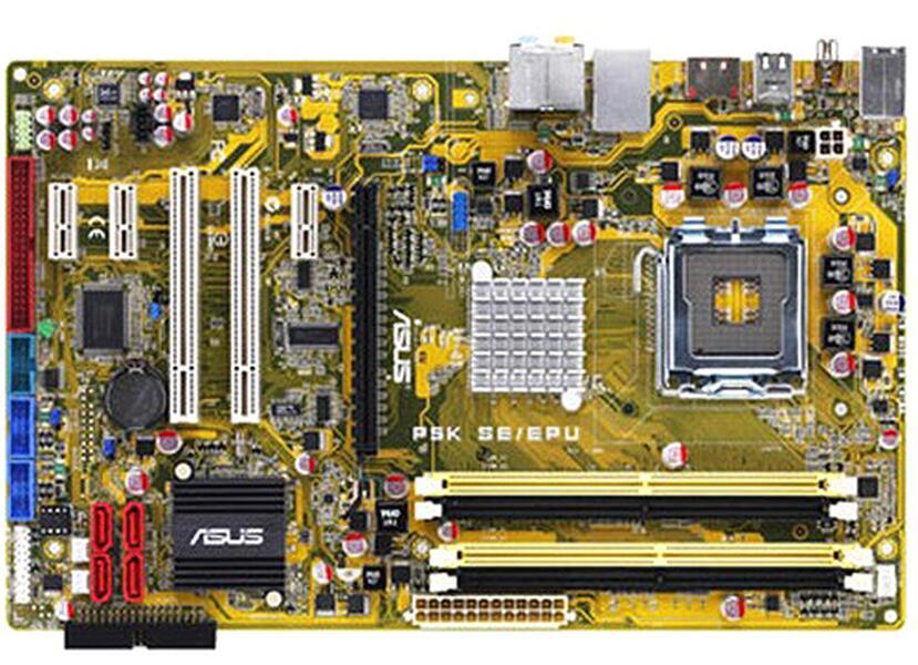Zócalo LGA 775 para ASUS P5K SE/EPU escritorio Original usado para Intel P35 placa base DDR2 USB2.0 SATA2