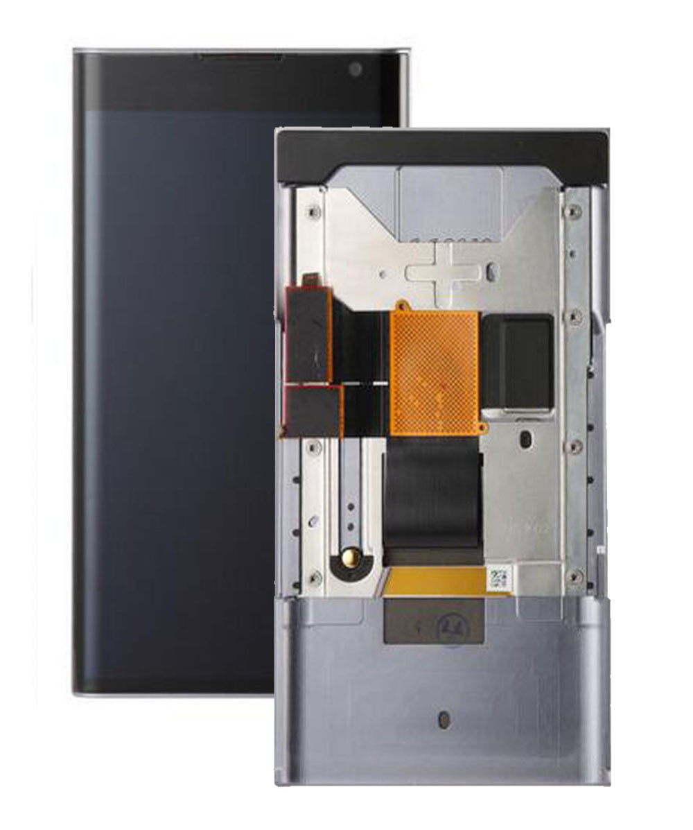 Reemplazo de STARDE LCD para pantalla LCD BlackBerry Priv Digitalizador de pantalla táctil marco de montaje de sentido de 5,4 pulgadas