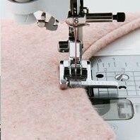 Peças para máquina de costura doméstica, calcador e guia para máquina de costura de uso doméstico, HM-9913 pé para janome singer toyata pfaf juki mais sinfer bernina