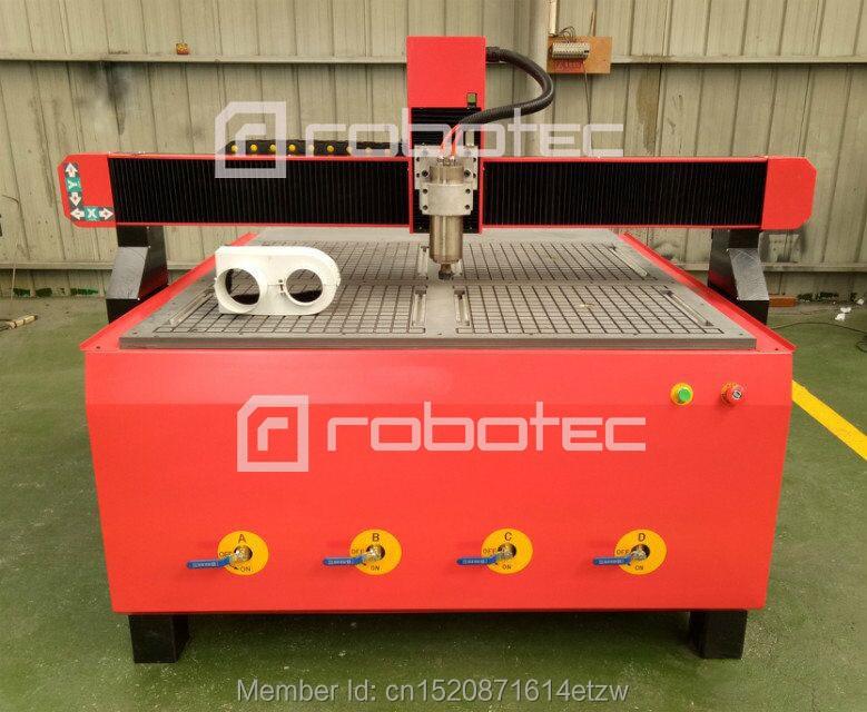 Hecho en China mesa de vacío Máquina de grabado de madera enrutador cnc de madera 1224