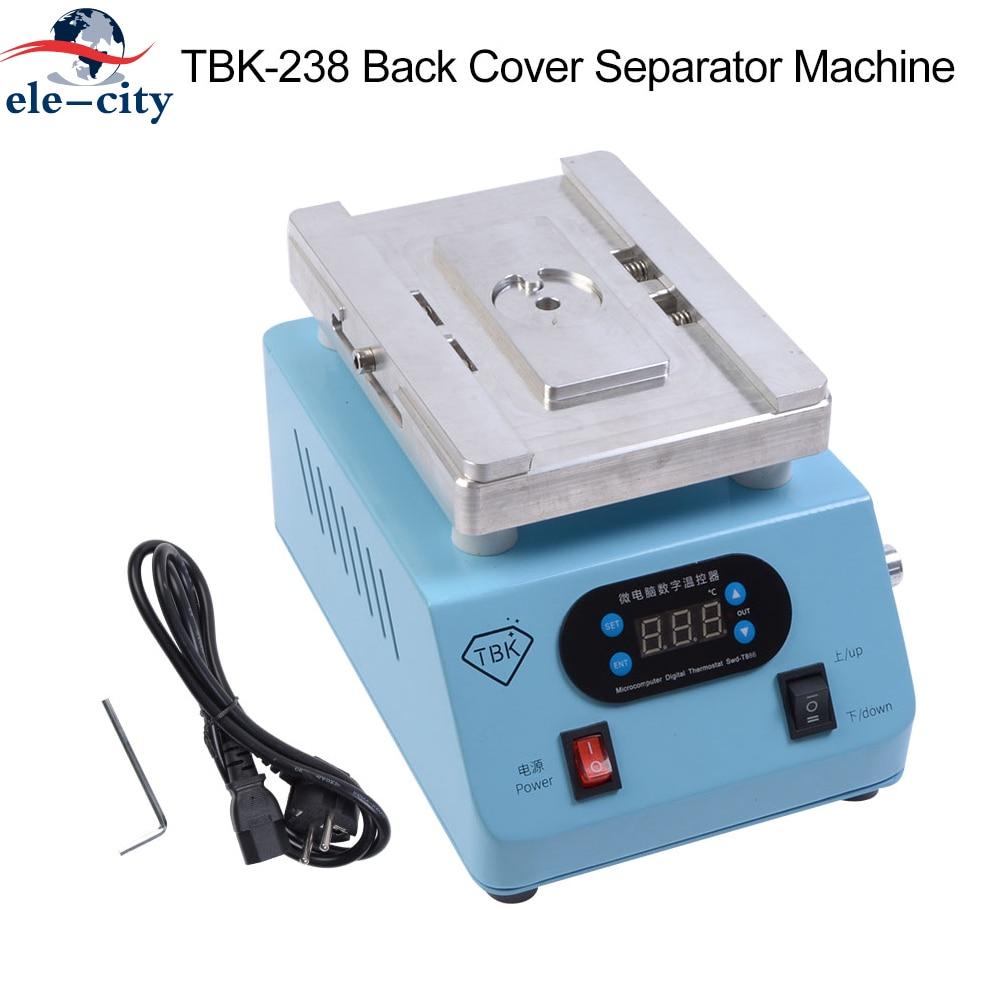 TBK-238 التلقائي الغطاء الخلفي فاصل آلة ل فون 8 زائد/X/XS/XR/XS ماكس 220V الاتحاد الأوروبي 110V الولايات المتحدة التوصيل الخلفي الزجاج مزيل آلة