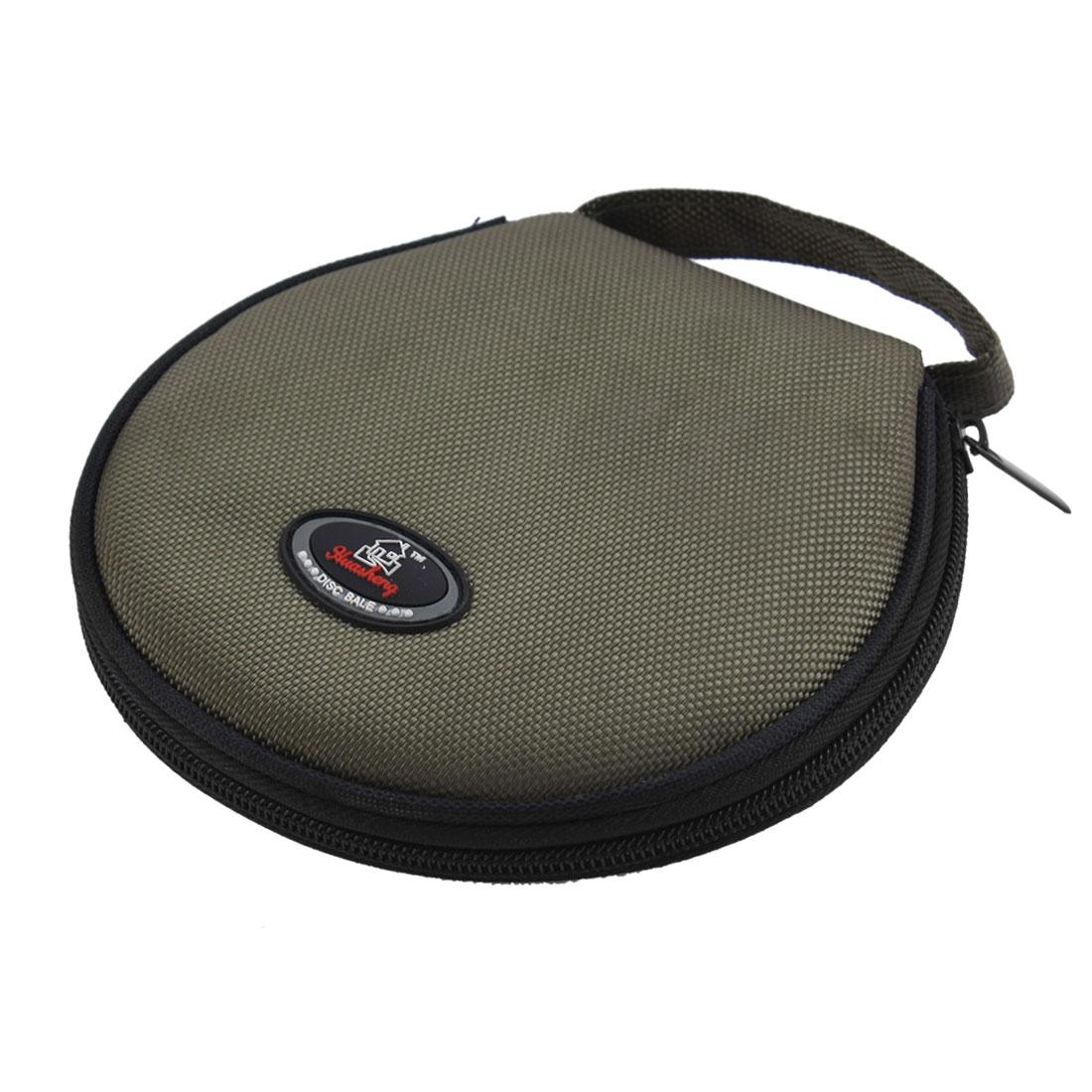 Uxcell круглые металлические молнии 20 Карманы DVD CD держатель для хранения сумка|cd