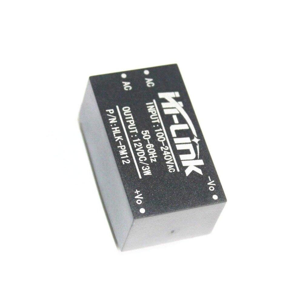 ShenzhenMaker HI-LINK HLK-PM12 módulo de fuente de alimentación. Aislamiento CA/CC 12V 3W