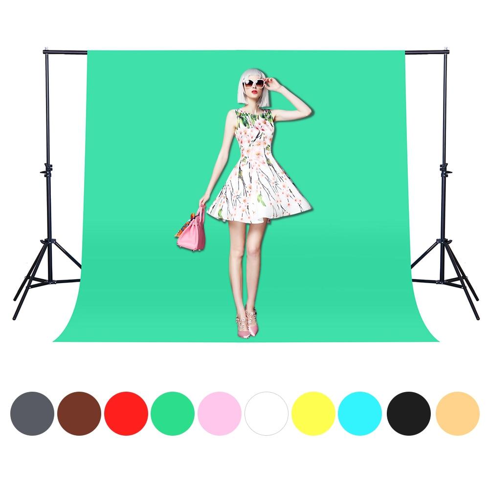 1.6X1/2/3/4M Fotografia Photography Backdrops Green Photo background Nonwoven Photo Studio Chroma key Background