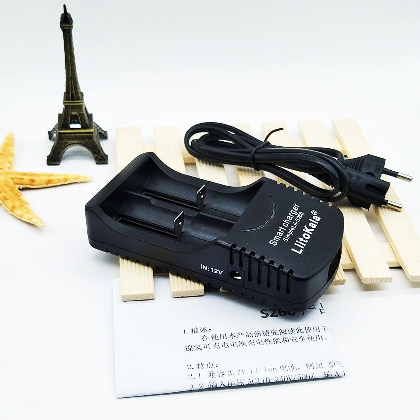 LiitoKala Sii-260 3,7 V 18650, 26650, 18500, 16340, 1,2 V AA/AAA Ni-MH cargador de batería inteligente cargador de batería + de CA de la UE línea + envío gratis