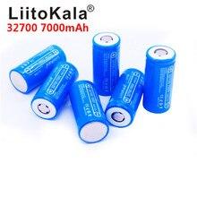 2020 yeni LiitoKala Lii-70A 32700 3.2v 7000mAh lifepo4 şarj edilebilir pil hücresi 5C deşarj pil için yedek güç el feneri