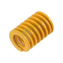 Uxcell Od 18Mm Id 9Mm Orange Metal Tubular Section Mould Die Spring Long 25mm 30mm 35mm  40mm  50mm  60mm Springs Hardware