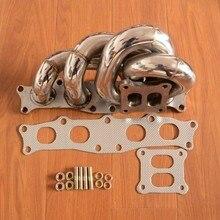 Выхлопной турбо коллектор из нержавеющей стали для TOYOTA 91-95 MR2 MR-2 SW20 CT26 3SGTE