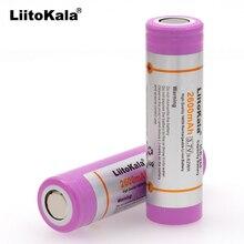 Liitokala 10 шт. для оригинальных аккумуляторов 18650, 2600 мАч, li ion, 3,7 В, для ноутбуков, фонариков