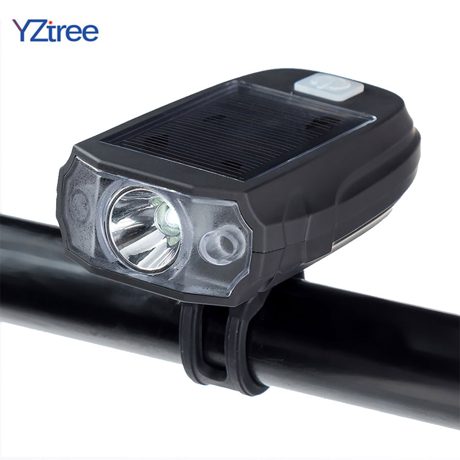 waterproof led cycling front head bicycle bike light headlight headlamp bike front head light flashlight torch LED Solar Power Bicycle Front Head Light T6 600LM USB Rechargeable Waterproof Outdoor Flashlight Cycling Solar Lamp Bike Light