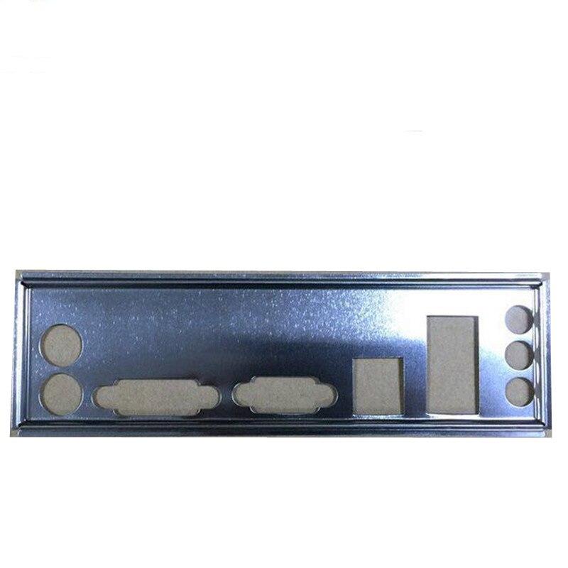 Adecuado para ASUS B85M-K B85M-K PLUS P8H61-M PLUS V2 placa base I/O deflector de panel trasero deflector personalizado