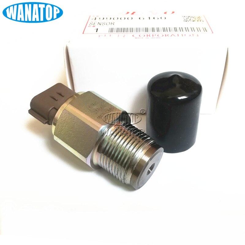CR Fuel Pressure Sensor 499000-6070 499000-6160 8-97318684-0  8973186840 For Isuzu Nissan