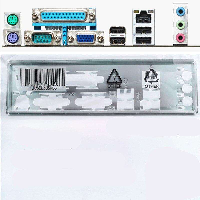 Nadaje się do ASUS M5A78L-M LX/C/SI/H61M-D/M4A78LT-M LX płyta główna/przegroda we tylny panel niestandardowe przegrody