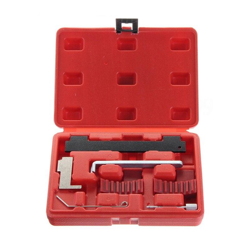 7 Uds coche herramienta de sincronización del motor Kit de árbol de levas de bloqueo de Auto Reparación de herramienta de mano para Opel Alfa Fiat 1,4, 1,6, 1,8 herramienta de