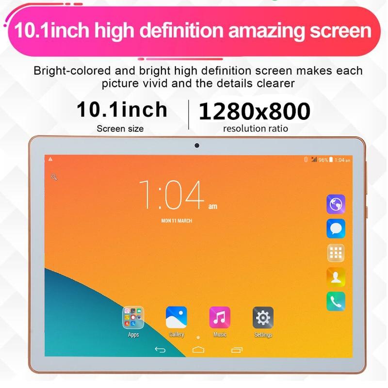 6 + 128GB pastillero Tablet PC T805C 10,1 Android 6,0 4 Core Ram 6GB ROM 128GB Dual SIM portátil de 10 pulgadas Google WIFI GPS bluetooth 5MP