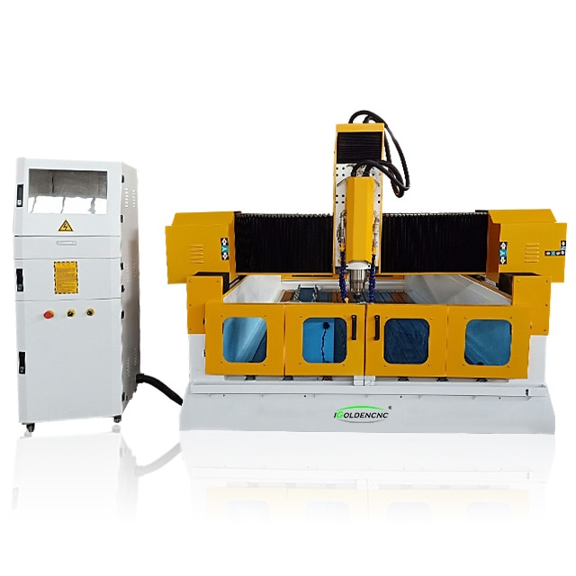 Máquina de grabado de piedra 3d cnc 1300x2500, máquina de moldeo de mármol, máquina de pulido de piedra de corte de granito