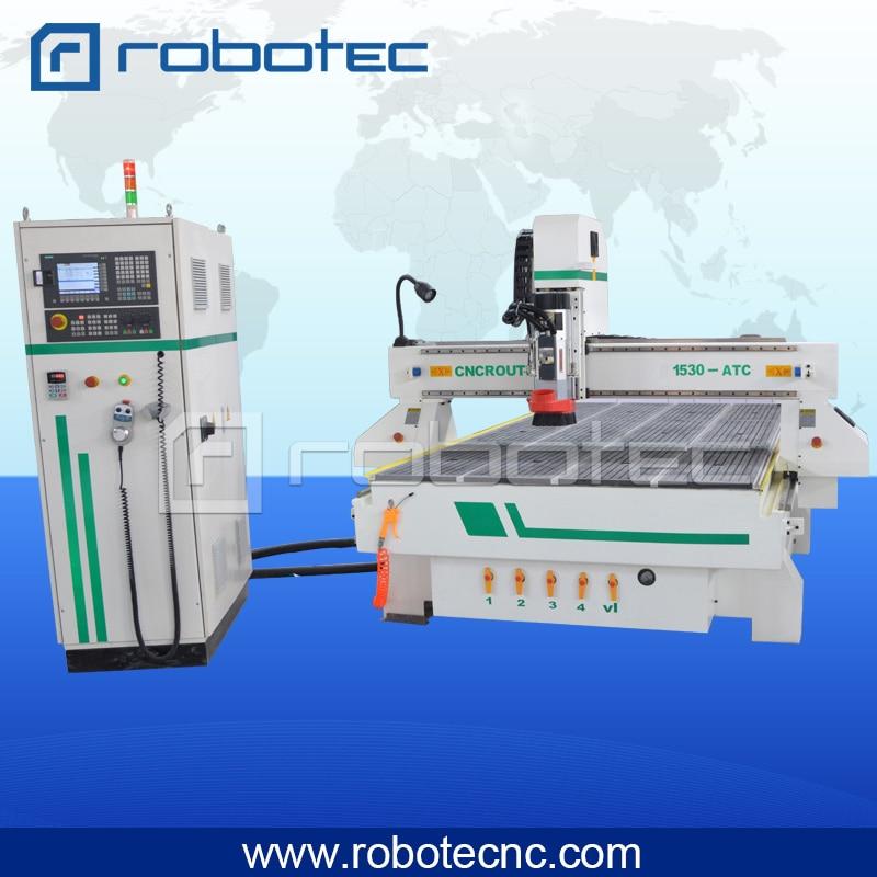 Chine pas cher automatique outil changeur broche moteur atc RTM 1325 bois travail machine pour la fabrication de meubles