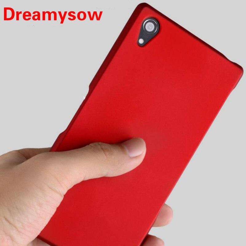 Premium Slim Matte PC Phone Case For Sony Xperia XZ5 XZ2 XZS XA2 L2 XA Z2 Z3 Z4 Z5 XZ4 Compact Ultra Plus E5 XZ Hard Back Cover
