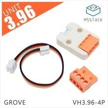 M5stack oficial 3.96-módulo de transferência 4pin grove compatível com m5go fogo esp32 kit de desenvolvimento