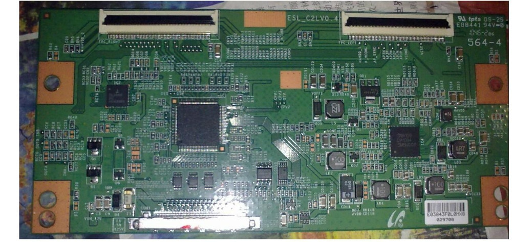 LCD Board ESL_C2LV0.4 Logic board for / connect with LKY460HN02 KDL-46EX520 T-CON connect board