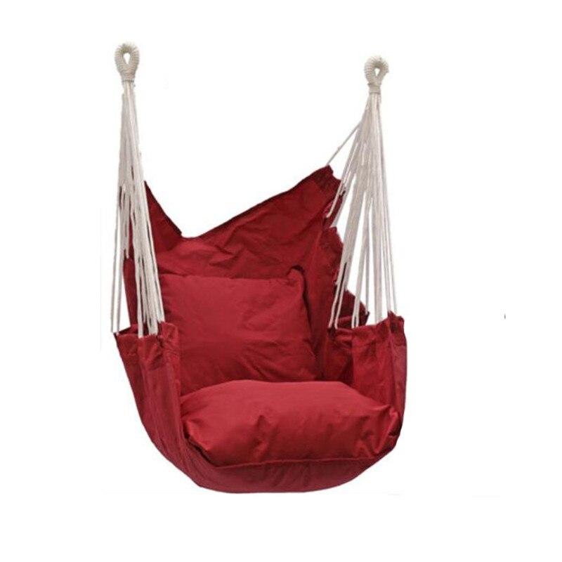 Garten Schwingen Hängen Stuhl Indoor Outdoor Möbel Hängematten Dicken Stuhl Kissen integration Schlafsaal Schaukel Hängematte Camping