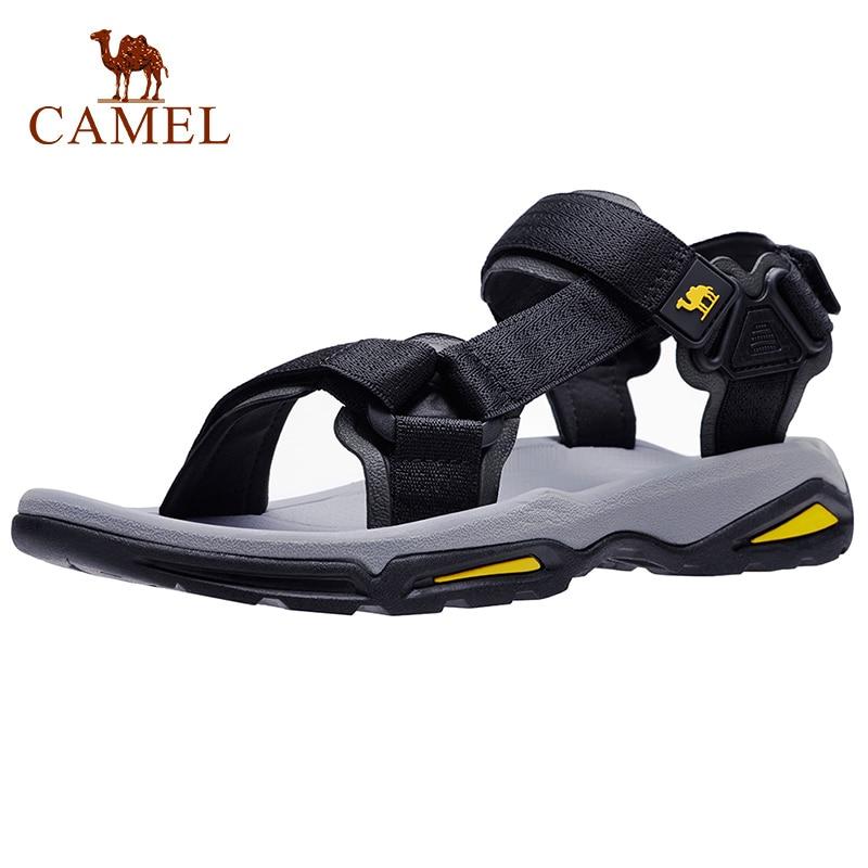 الجمل الرجال الصنادل حزام رياضي حذاء رجالي مقاوم للماء المشي لمسافات طويلة المشي الشاطئ في الهواء الطلق الصيف الذكور الأحذية