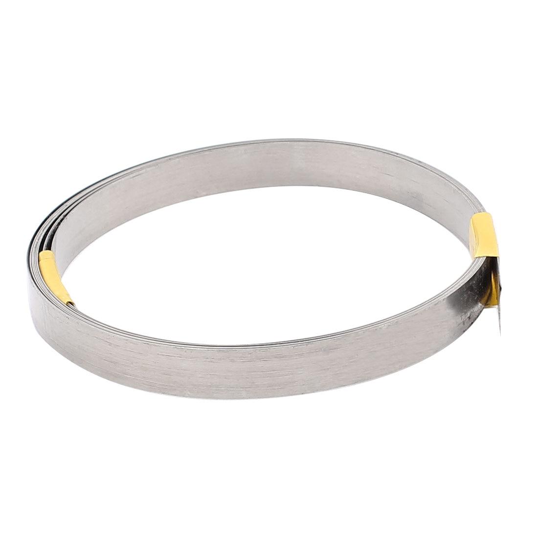 Uxcell 2M 6.6Ft 0.2X8mm Nichrome Platte Heater Wire Voor Verwarmingselementen Lengte 2M 305 Cm 3 M 5 M 750 Cm
