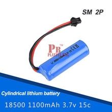 3,7 v 1100 mah wiederaufladbare lithium-batterien schwungräder h227-33 fernbedienung flugzeug ft008 hohe drehzahl fahrzeug und spielzeug