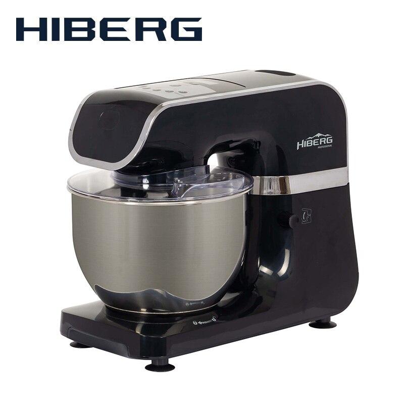 Misturador planetário de alimentos hiberg mp 1040 db misturador planetário suporte misturador da cozinha máquina processador alimentos misturador com tigela