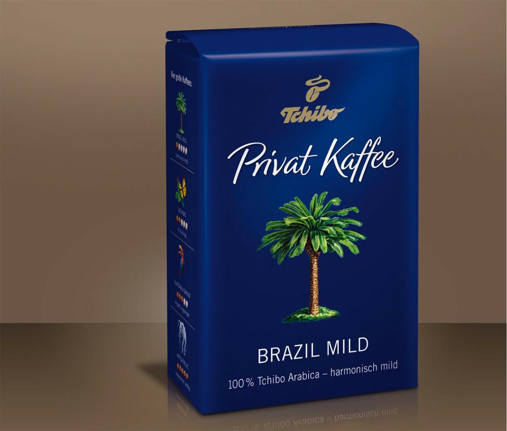 تشيبو بريفات Kaffee البرازيل معتدل الأرض فلتر القهوة 250 جرام (8.81 إضافات)