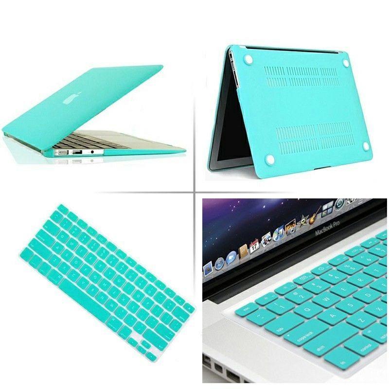 2020 nowy twardy futerał Hardshell z klawiaturą skóry pokrywa dla Apple MacBook Pro Retina Touch Bar 11 12 13 15 16 cali A1466 A1369