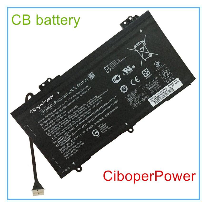 11,55 V 41.5Wh Оригинальный аккумулятор для ноутбука SE03XL for14-AL100 14-AL125TX