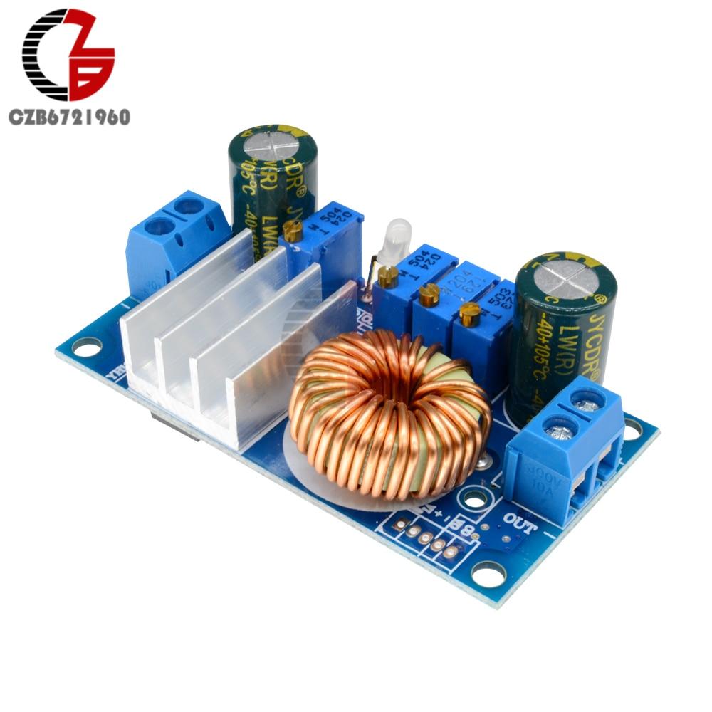 5A MPPT Регулируемый понижающий модуль преобразователя постоянного тока регулятор напряжения питания для солнечной батареи