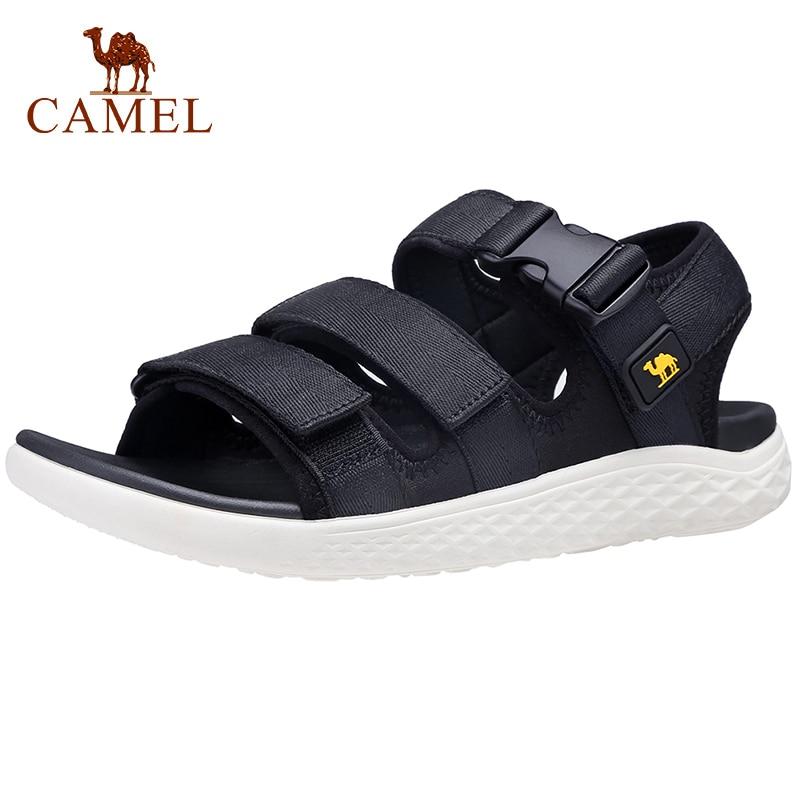 CAMEL Men's Sandals Men and Women Waterproof Strap Athletic Couple Beach Sandal Casual Outdoor Walking Water Men Shoes