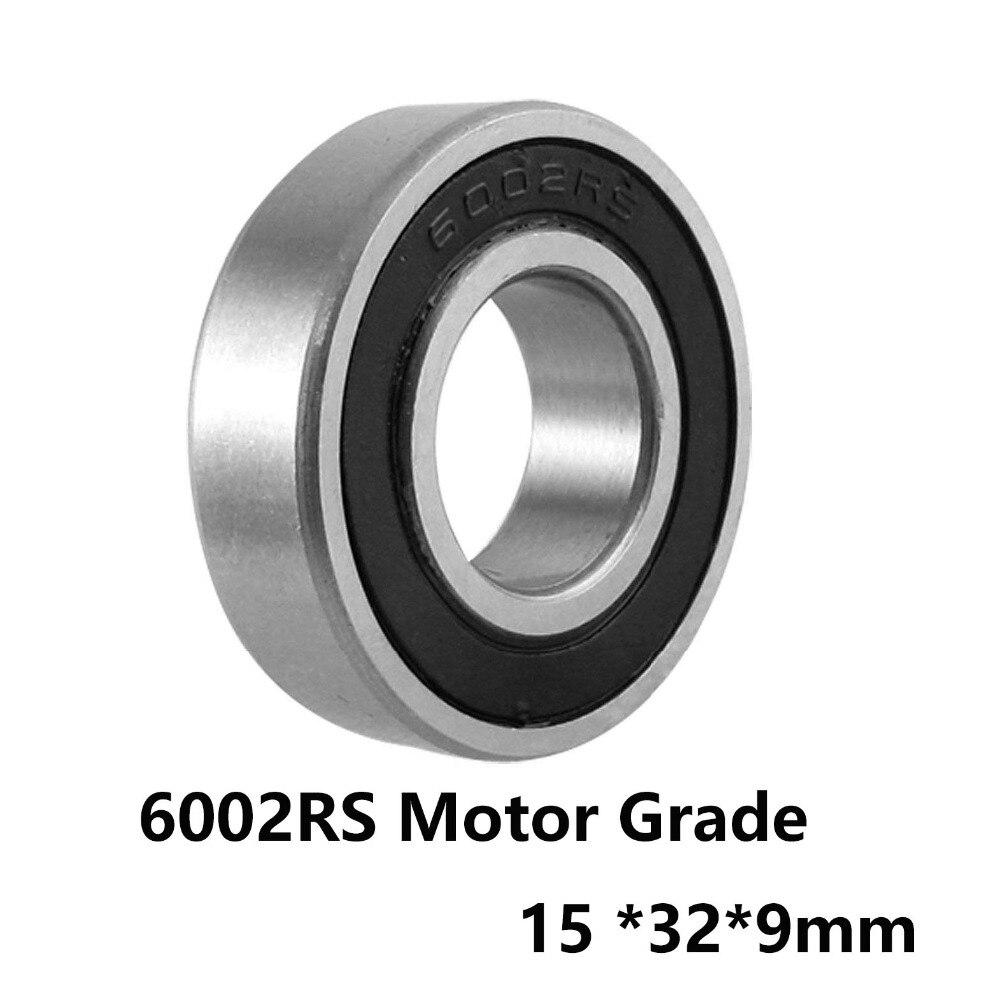 1 pçs/lote 6002RS Deep Groove Ball Bearing Motor Nível 6002-RS 6002RS 15*32*9mm 15*32*9 Material De Aço do Rolamento