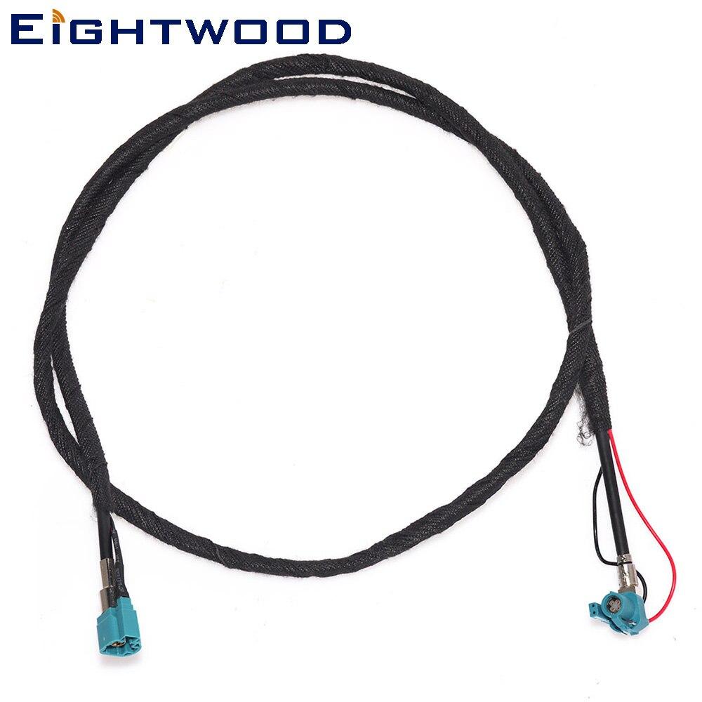 Eitwood personalizar HSD Cable Coaxial RF ensamblaje Z código ángulo recto Jack hembra a Z código recto conector macho 120cm
