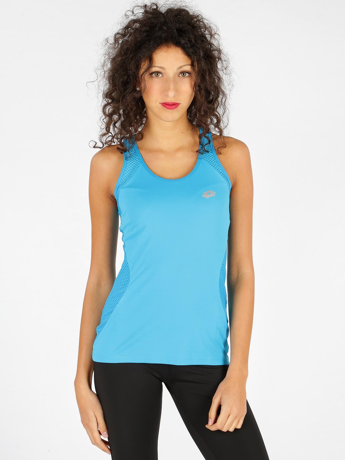 Ursula VI tanque PL W-Camiseta deportiva azul