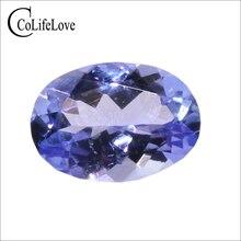 Véritable tanzanie origine véritable tanzanite pierre 100% tanzanite naturelle lâche pierre précieuse pour anneau bijoux bricolage