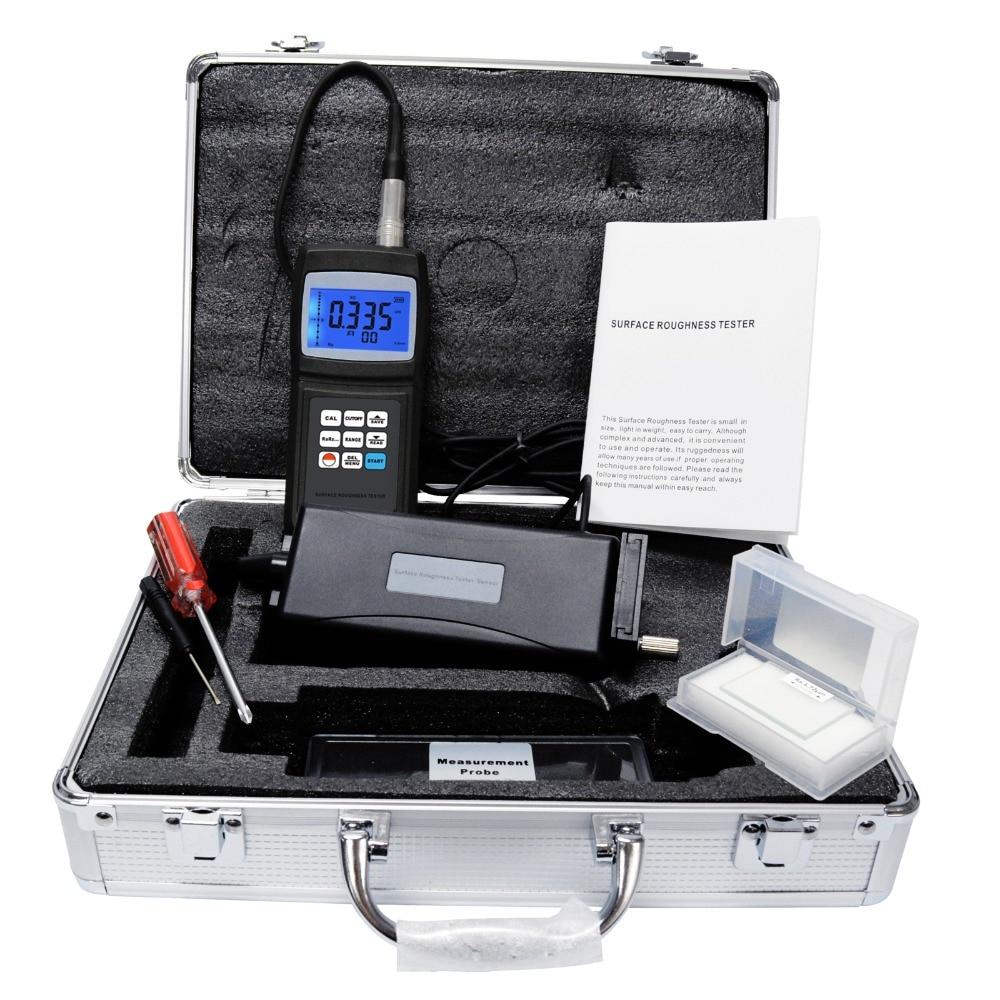أداة قياس خشونة الأسطح الرقمية مقياس مقياس مقياس الارتفاع ث/جهاز استشعار منفصل ، 4 معلمات Ra Rq Rz Rt ذاكرة البيانات 10um