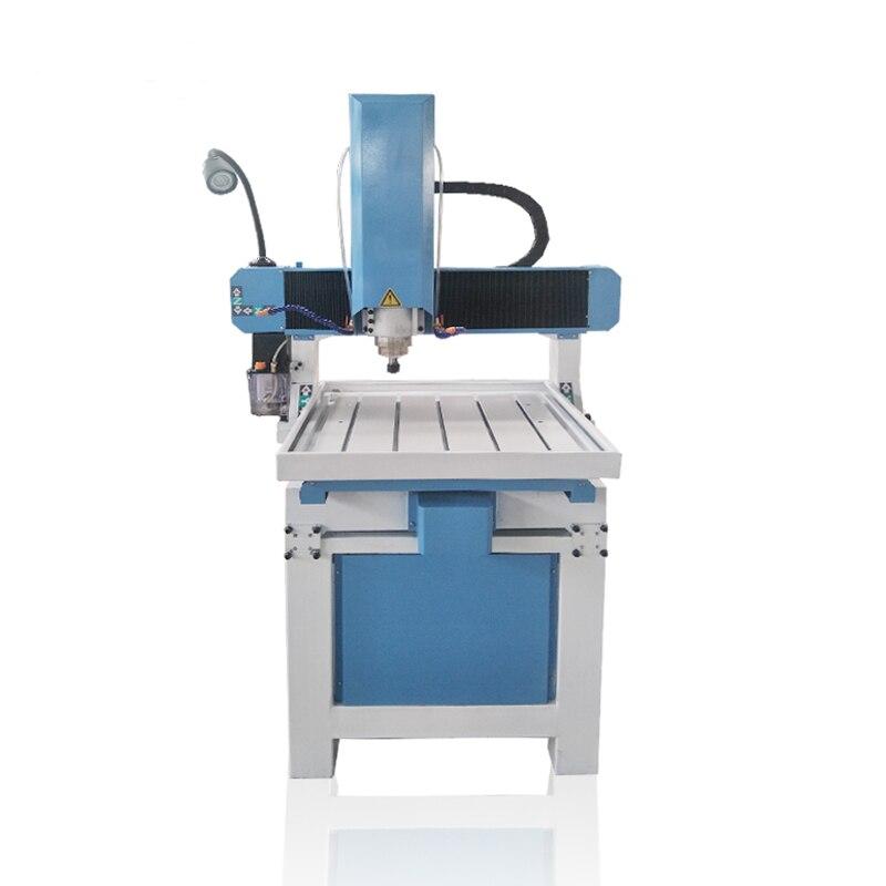 6060 enrutador de escritorio mini cnc para maquinaria de fabricación de moldes de metal