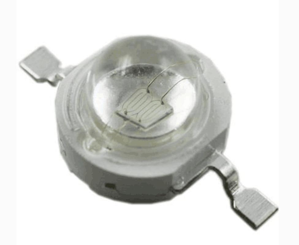 UV LED Lamp Bead 50PCS High Power 3W 380NM 385NM BULB Lighting