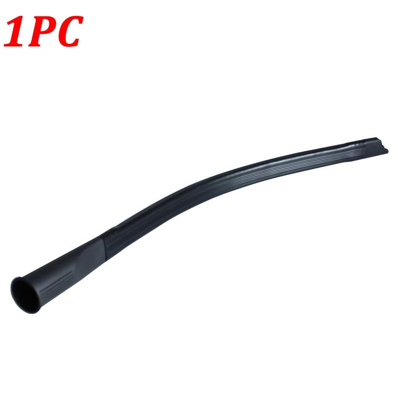 Cabezal de boquilla de succión plana de 32mm Largas flexibles para accesorios universales de repuestos de aspiradora, 1 unidad de herramienta de hendidura de manguera de vacío