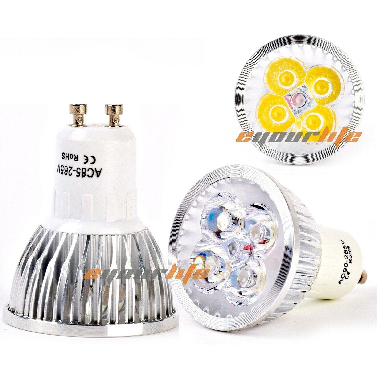 Bombilla blanca cálida Epistar 9W 12W 15W GU10 foco LED con regulable