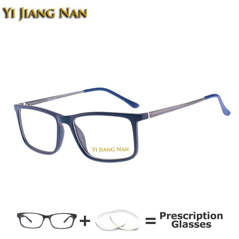 TR 90 Material elegante gafas de moda borde completo gafas opticas Marco de prescripción gafas marco hombres