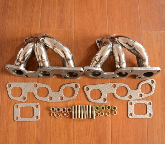 T25 turbo manifold escape para 89-02 nissan skyline GT-R/gtr BN-R32/r33/r34 rb26det
