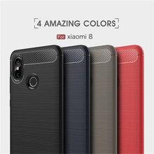 For Xiaomi Mi 8 Case Full Soft TPU Silicone Cover Case For Xiaomi Mi8 Xiaomi 8 6.21 inch Luxury Thin