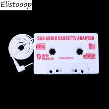 Elistooop AUTO Universal Auto Kassette Band Audio Adapter Stereo Converter Für Iphone Ipod MP3 AUX CD 3,5mm Auto Auto -styling