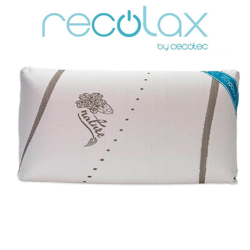 Cocotec viscoelastic travesseiro feito com casca de amêndoa e osso de azeitonas. Visco Recolax Natureza