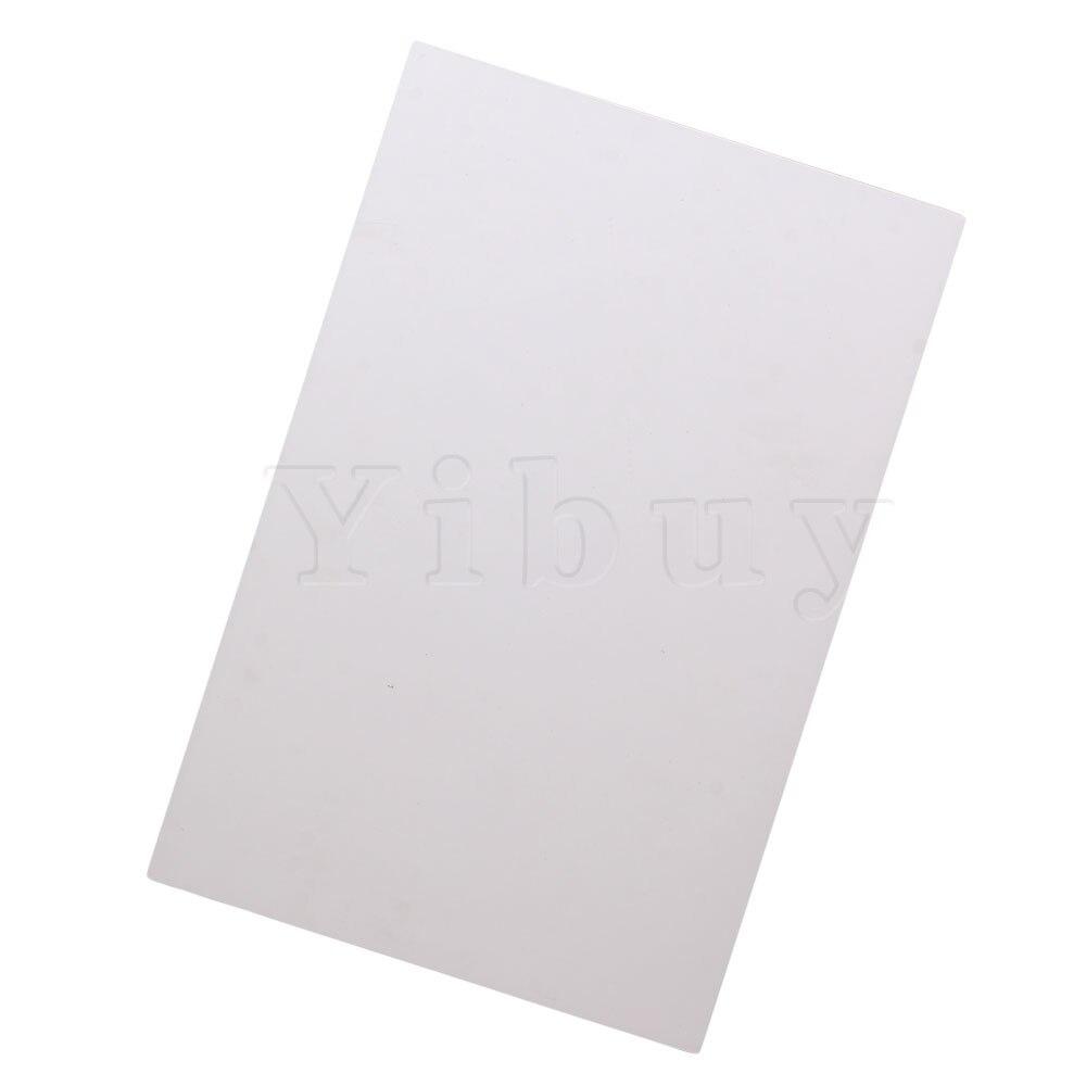 Yibuy 3ply en blanco tortuga 29cm x 43cm cero placa hojas